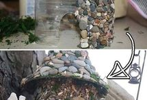 casitas de piedras