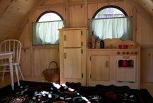 Big Merry Hobbit Hole Playhouse / by Wooden Wonders Hobbit Holes