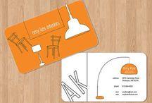визитки дизайнера