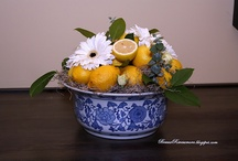 My Love of Blue,White andYellow