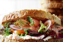 Lax smörgås