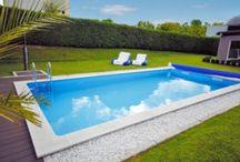 Pools - Ab ins kühle Nass! / Wir verschaffen euch Abkühlung an heißen Sommertagen mit unseren Einbaupools, Aufstellbecken und dem passenden Zubehör. :)