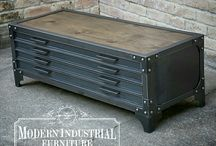 Modern Industrial Coffee Tables / Modern Industrial Coffee Tables