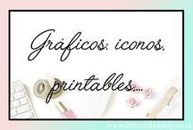 Gráficos: iconos, printables,... /  Gráficos: iconos, printables,...
