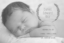 New Baby / These are designs on CatPrint.com's Template Gallery related to babies! Send a Baptism invitation, baby birth announcement to your family and friends, or invite them to your baby shower!