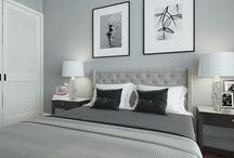 Modern bedroom / Apartment in modern style Designer: Marina Rets Studio: BR Intriors