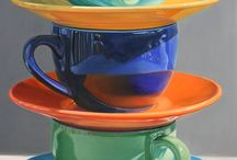 Cups paintings