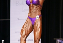 Female muscles & Bodybuilding / Ripped, shredded and muscular. Women's Physique!