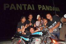 pantai pandawa / honda tour