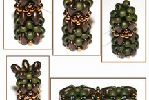 Superduo  beads&Arpa boncuklular