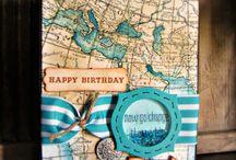 Stampin' Up! - World map / Jaarcatalogus /Annual catalogue 2014-2015