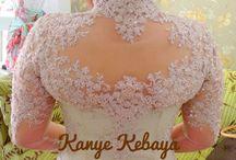 Kebaya Back Details / Kebaya