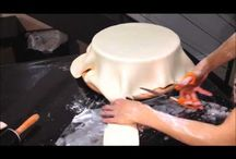 Pasta-modeller-figür