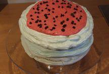 "meringue cake ""watermelon"" / meringue cake ""watermelon"""