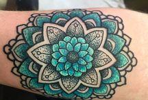 Mandala tatuering