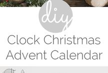 Advent / Christmas countdown, calendars, ideas, kids
