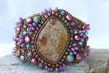 Jewelry using Melon Beads