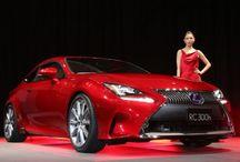 2015 Lexus RC in Tokyo Motor Show