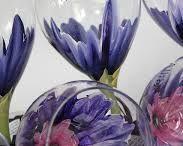 clay wine glass