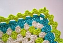 Crochet edges / For the finishing touch of your crochetwork