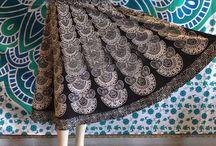 peacock skirts