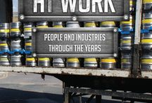 At Work - Amberley Publishing / A pictorial history of the working life of these cities over the last century and more.