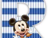 Alfabeto Mickey Baby