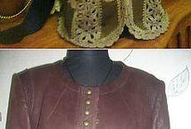 Вязание и кожа