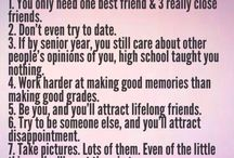 High school scrapbook ideas