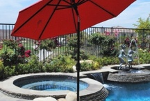 Patio Umbrellas / PatioShoppers.com offers a large selection of quality patio umbrellas, offset umbrellas, market umbrellas in just about any size and shape you need!