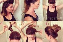 peinados informales / Peinados para el trabajo