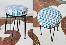 For sale -- benches, stools & ottomans / by Chairloom/Co-Lab.