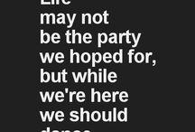 We should dance