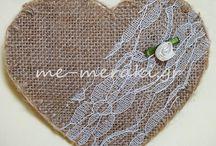 Μπομπονιέρες με λινάτσα / Handmade wedding mpomponieres. Μπομπονιέρες γάμου - βάπτισης, ξεχωριστές, ιδιαίτερες δημιουργίες, όλες χειροποίητες φτιαγμένες με αγάπη και Με Μεράκι... Μπομπονιέρες γάμου με λινάτσα. Μπομπονιέρες με τιμές στην ιστοσελίδα www.me-meraki.gr