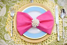 Place Setting Decor  / by Tiffany Treadaway