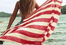 Stars & Stripes / #patriotic #america #red #white #blue #memorialday #4thofjuly #USA #stars #stripes #american #flag #jewelry #accessories #beauty #fashion #style #celebration #fireworks #theme #food #recipe #diy / by Amrita Singh Jewelry