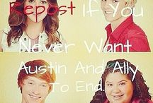 austinandally / austin and ally