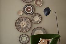 Wandteller / Die schönsten Wandteller zur Inspiration für eine individuelle Wanddekoration zu Hause.