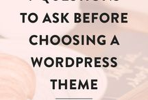 WORDPRESS TIPS FOR BEGINNERS / Are you a beginner blogger and just started with WordPress? Here the best WordPress themes, WordPress tips for beginners, WordPress tutorials, WordPress articles, all step by step!