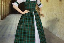 Schottische Kleidung