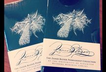 Penmanship / Amazing finds from our Zaner-Bloser Penmanship Collection (www.scranton.edu/library/zanerbloser).