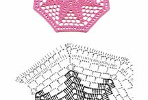 """Crochet diagrams """"want-to-do's"""""""
