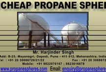 Propane Spheres / Manufacturer and exporters of Propane Spheres.