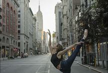 Ballerina Project - AG Jeans / Collaboration with Adriano Goldschmied featuring their new Contour 360 jeans.