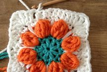 Crochet ~ Granny Squares / Granny squares makes everything better.