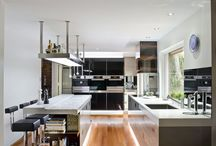 modern kitchen ideas / by Rosemary