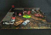 Diorama diecast 1/64....
