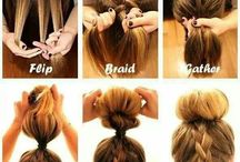 Hair to-do someday / Hair tutorials