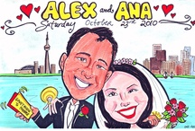Caricature work / These are my favorite caricatures that I have drawn over the years.