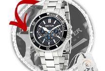 SECTOR HODINKY / Luxusní hodinky od SECTOR